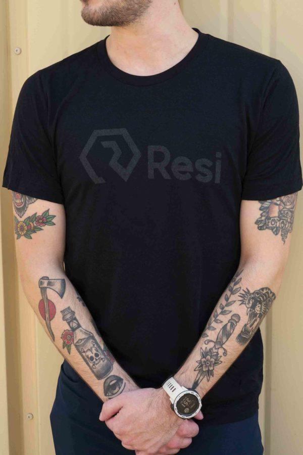 Resi Black T-Shirt